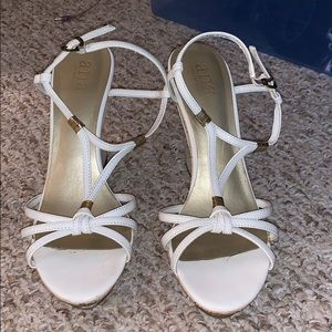 Wedge Sandals (minor scuffing in heel as shown)